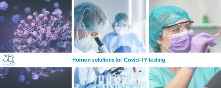 C4Diagnostics' human solutions for Covid-19 testing