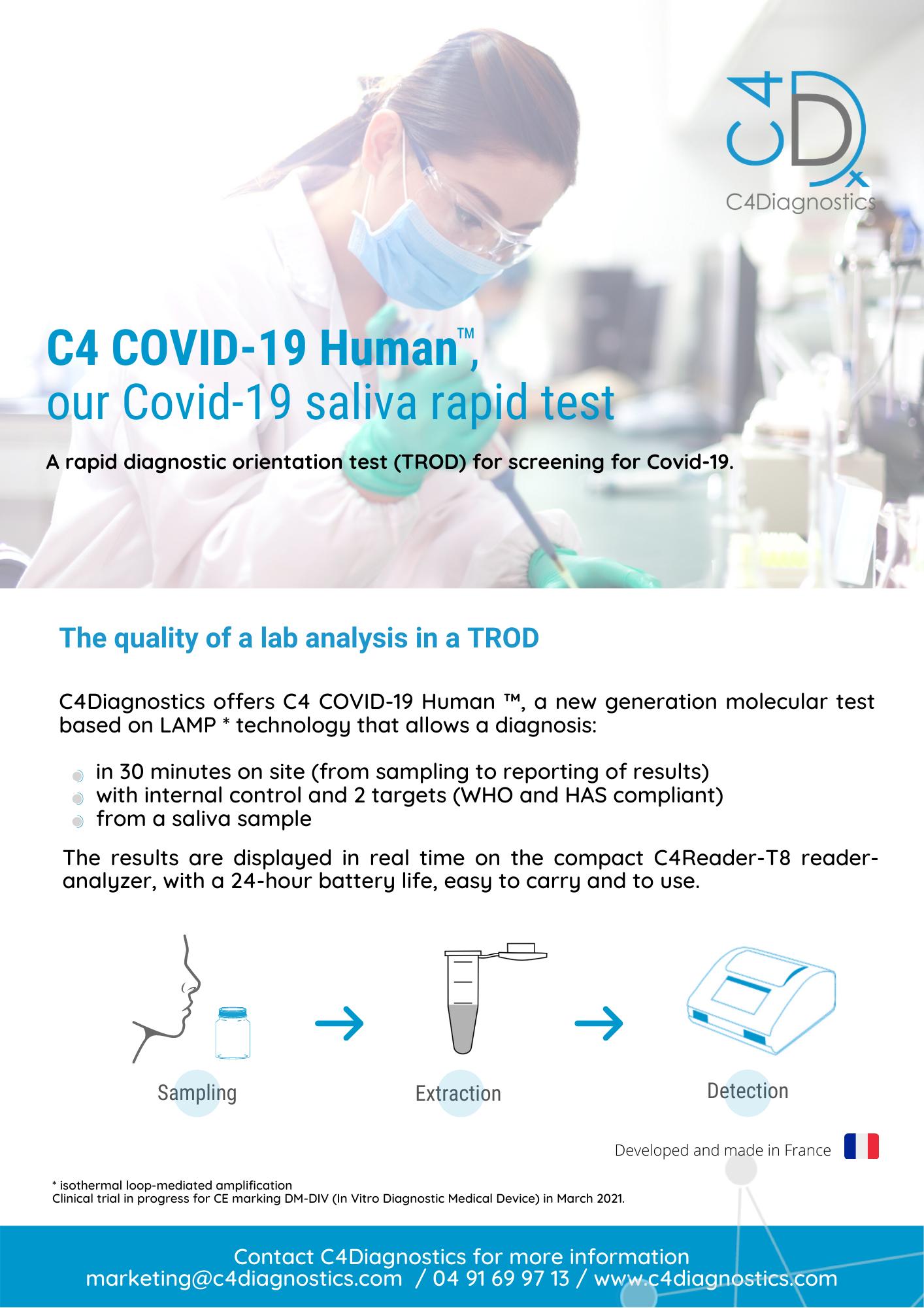 C4 Covid-19 Human by C4Diagnostics