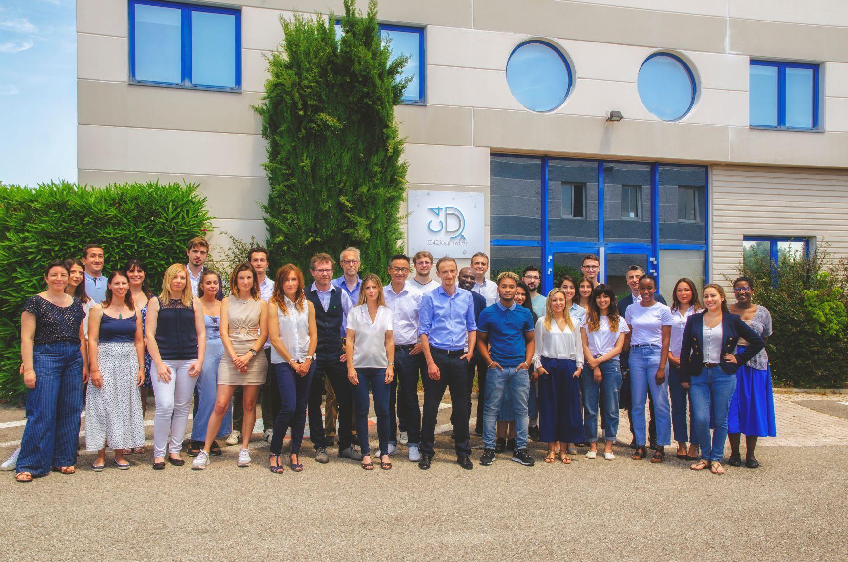 Equipe de C4Diagnostics - Juin 2021